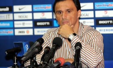 FOTBAL:CONFERINTA DE PRESA STEAUA BUCURESTI (22.09.2009)