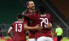 Zlatan Ibrahimovic și Franck Kessie, în meciul AC Milan - Juventus 4-2 / Foto: Getty Images