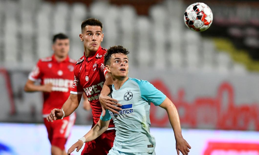 Cristi Dumitru și Ricardo Grigore, în timpul meciului Dinamo - FCSB 0-3 / Foto: Sport Pictures