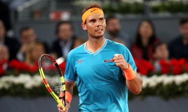 Rafael Nadal, la Madrid Open, în 2019 / Foto: Getty Images