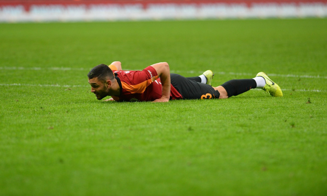 Turkish Super league football match between Galatasaray and Genclerbirligi