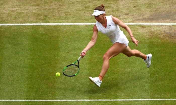Simona Halep, la Wimbledon 2019 / Foto: Getty Images