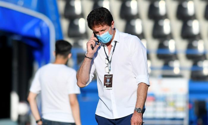 Gică Popescu, președintele de la Viitorul / Foto: Sport Pictures