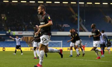 George Pușcaș, după un gol marcat pentru Reading / Foto: Getty Images