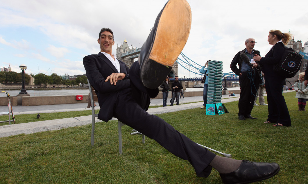 The New Tallest Man In The World Visits London For The First Time
