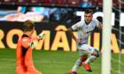 Alex Cicâldău, după golul marcat în CFR Cluj - Craiova 2-3 / Foto: Sport Pictures
