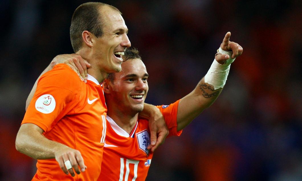 Netherlands v France - Group C Euro 2008