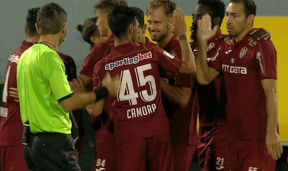 CFR Cluj - Gaz Metan Mediaș 2-0, Digi Sport 1. Boli, eliminat! Gazdele, în 10!