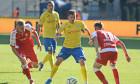 Laurențiu Marinescu, în meciul Petrolul Ploiești - UTA Arad / Foto: Sport Pictures