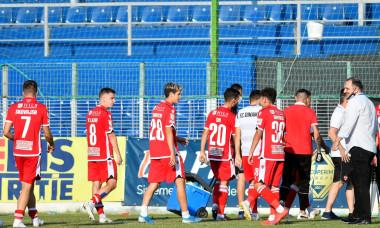 Jucătorii lui Dinamo, la meciul cu Academica Clinceni / Foto: Sport Pictures