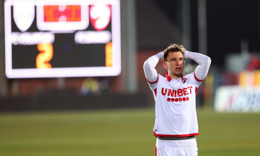 Deian Sorescu, în meciul Voluntari - Dinamo / Foto: Sport Pictures