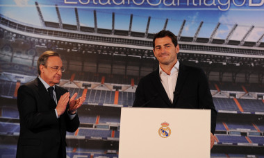 Iker Casillas leaves Real Madrid - Press Conference