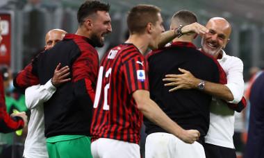 Stefanio Pioli, după victoria obținută de AC Milan cu Juventus / Foto: Getty Images