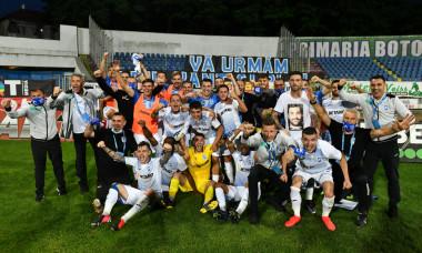 Jucătorii Craiovei, după succesul de la Botoșani / Foto: Sport Pictures