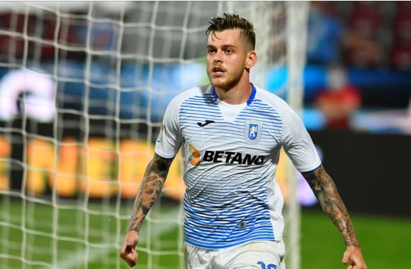 Alex Cicâldău, mijlocașul Universității Craiova / Foto: Sport Pictures