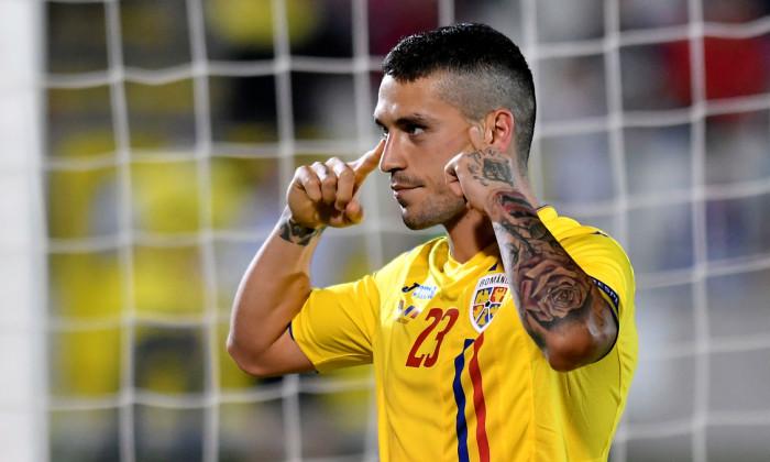 Nicolae Stanciu, după un gol marcat pentru România / Foto: Sport Pictures