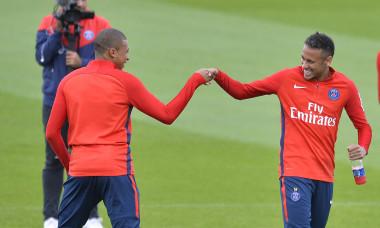 Neymar și Mbappe