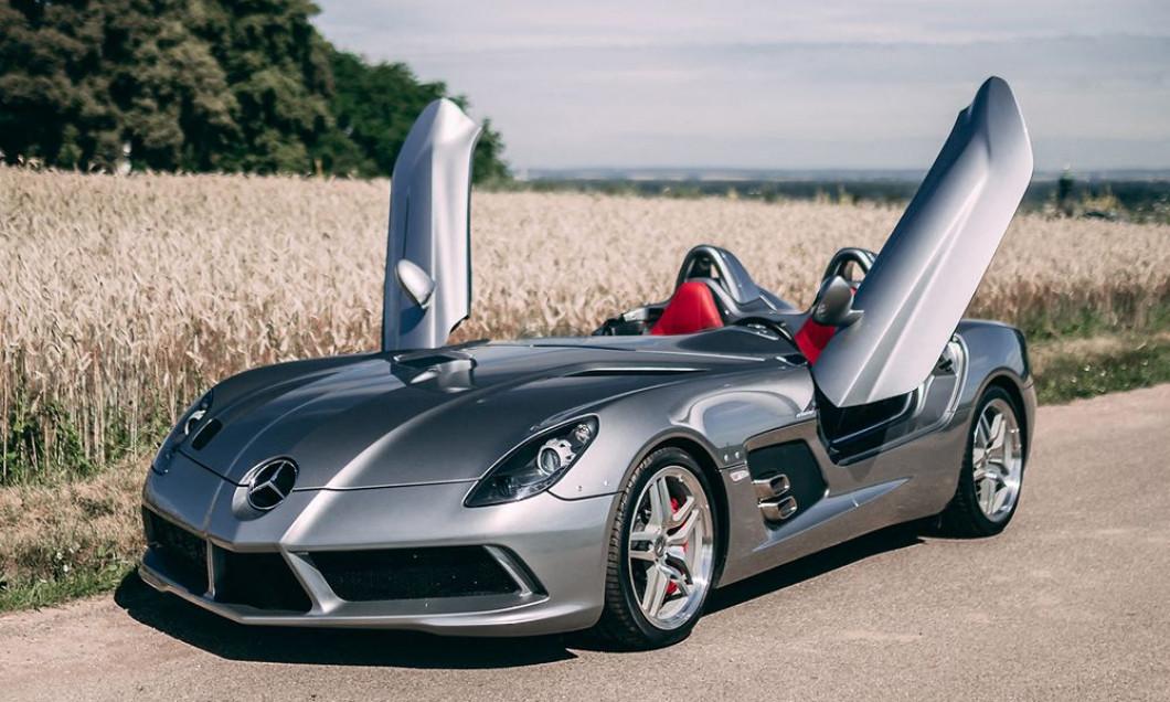 Sotheby va vendre aux enchčres une trčs rare Mercedes SLR Mclare