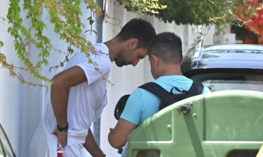 *EXCLUSIVE* World Number 1 Serbian Tennis star Novak Djokovic spotted without wearing his face mask out in Marbella