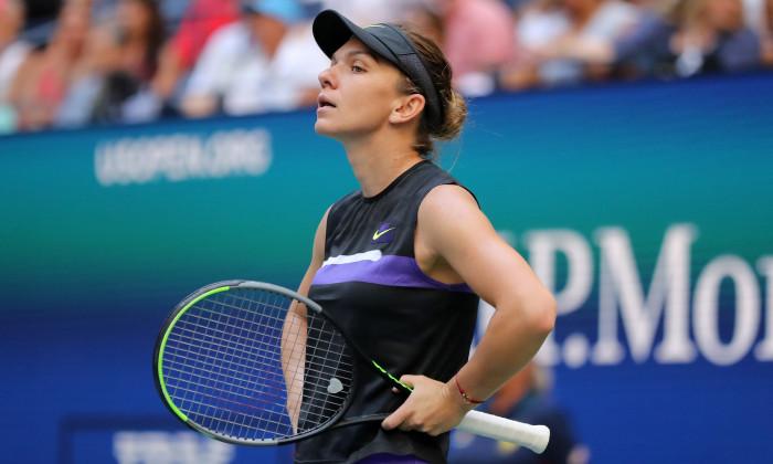 Simona Halep, la US Open 2019 / Foto: Getty Images