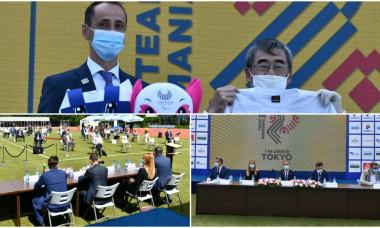 colaj echipament Jocurile Olimpice Tokyo