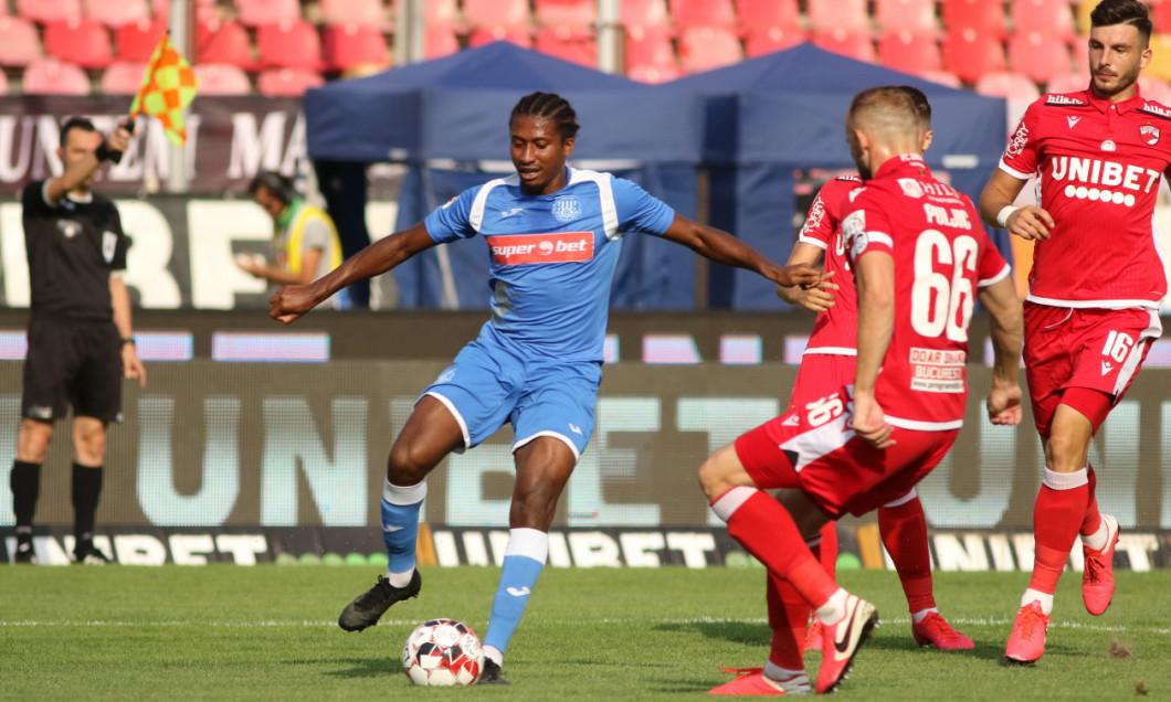 Rodny Lopes Cabral, în meciul dintre Dinamo și Poli Iași / Foto: Sport Pictures