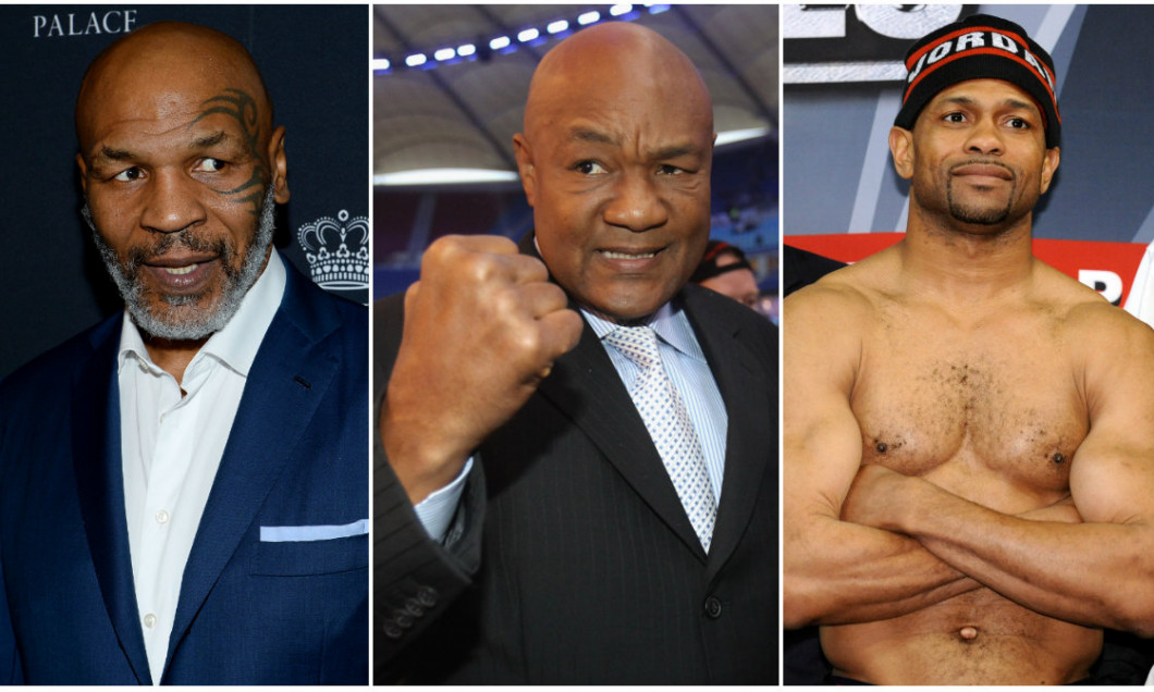 colaj mike tyson george foreman roy jone sjunior