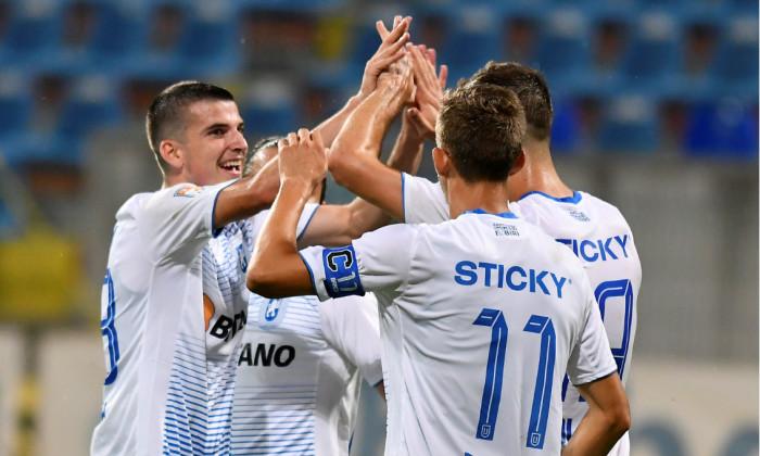Jucătorii Craiovei, în meciul cu FC Botoșani / Foto: Sport Pictures