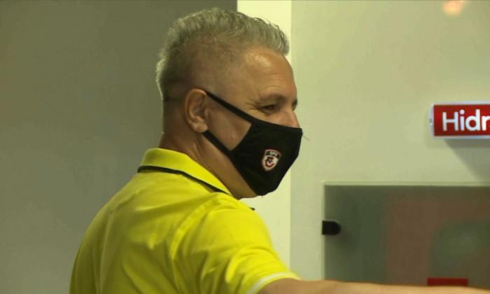 Marius Șumudică, antrenorul lui Gaziantep / Foto: Captură Digi Sport