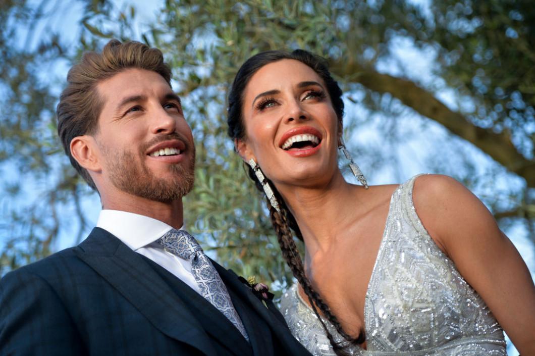 Sergio Ramos And Pilar Rubio Wedding In Seville