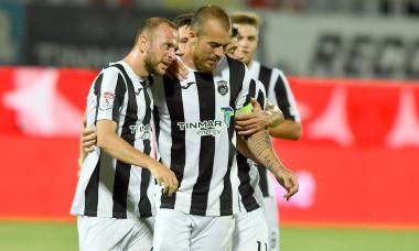 Fotbaliștii Astrei, în timpul meciului cu CFR Cluj / Foto: Sport Pictures