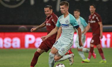 Florin Tănase și Ciprian Deac, duel în meciul CFR Cluj - FCSB / Foto: Sport Pictures