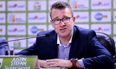 Justin Ștefan, secretarul general al LPF / Foto: Sport Pictures