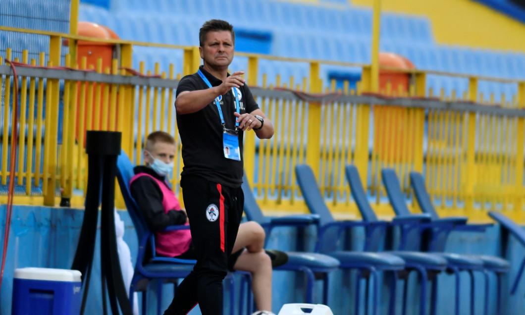 Dusan Uhrin, antrenorul lui Gaz Metan Mediaș / Foto: Sport Pictures