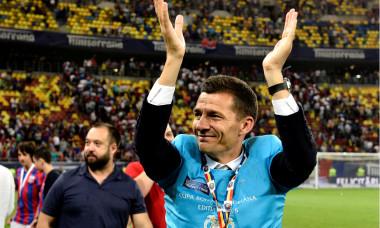 Costel Gâlcă, după câștigarea Cupei României cu FCSB / Foto: Sport Pictures