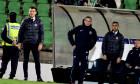 Costel Gâlcă, alături de Dumitru Uzunea, pe banca tehnică a FCSB-ului / Foto: Sport Pictures