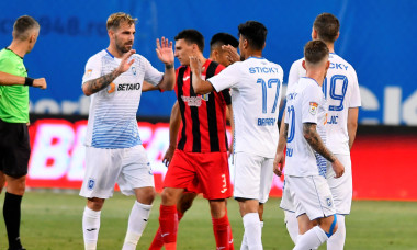 Jucătorii Craiovei, după un meci cu Astra / Foto: Sport Pictures