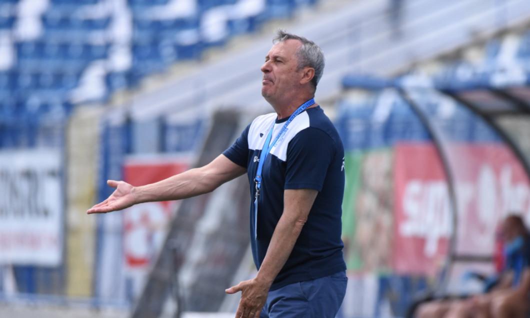 Mircea Rednic, antrenorul lui Poli Iași / Foto: Sport Pictures