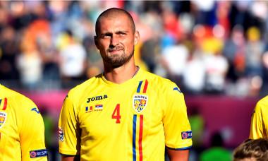 Gabi Tamaș, în tricoul echipei naționale / Foto: Sport Pictures