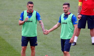 Nicolae Stanciu și Alex Chipciu, în timpul unui antrenament cu echipa națională / Foto: Sport Pictures