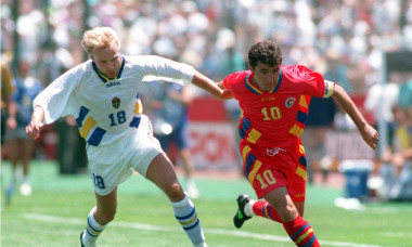 Gheorghe Hagi, în tricoul echipei naționale / Foto: Getty Images