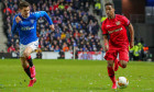 "Glasgow, UK. 12th Mar, 2020. Rangers FC played Bayer Leverkusen in Round of 16 -1st leg at Ranger's home stadium, Ibrox, Glasgow. in the UEFA ""Europa"" league.According to Steven Gerrard, Ranger's manager, this game provides a great challenge but it is hop"