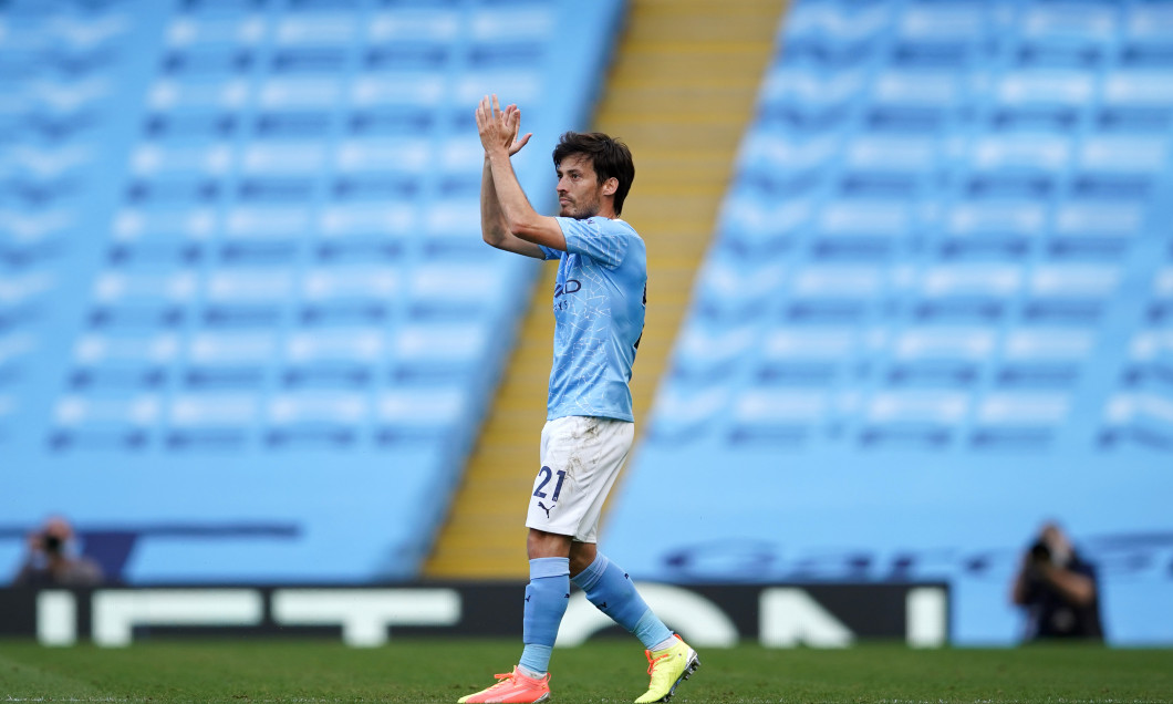 David Silva, în tricoul lui Manchester City / Foto: Getty Images