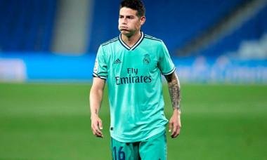Spanish La Liga soccer mach Real Sociedad vs Real Madrid