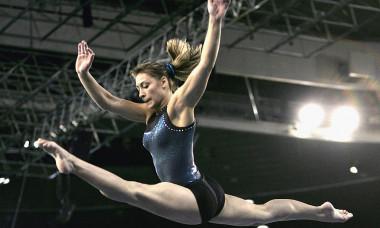 2005 World Gymnastics Championships - Women's Podium Training