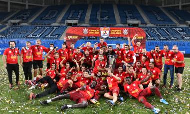 CFR Cluj, câștigătoarea ediției 2019 - 2020 a Ligii 1 / Foto: Sport Pictures