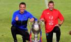 Toni Petrea și Thomas Neubert, după câștigarea Cupei României / Foto: Sport Pictures