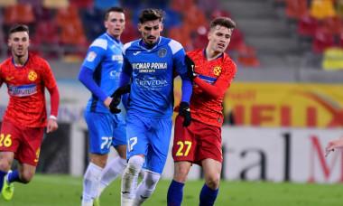 Alexandru Albu, în meciul dintre FCSB și Academica Clinceni / Foto: Sport Pictures