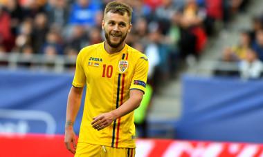 Alex Maxim, în tricoul echipei naționale / Foto: Sport Pictures