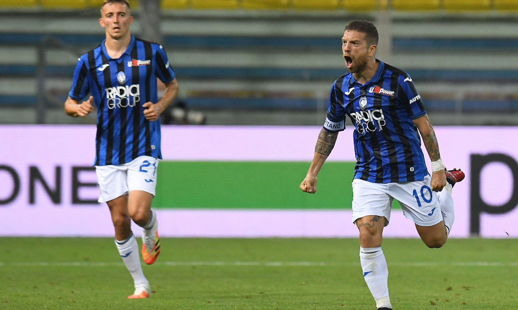 Alejandro Gomez, după golul marcat în meciul cu Parma / Foto: Getty Images